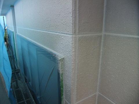 外壁塗装 吹き戻し