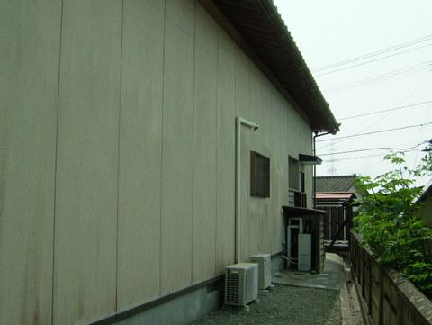 外壁塗装 北面 施工前