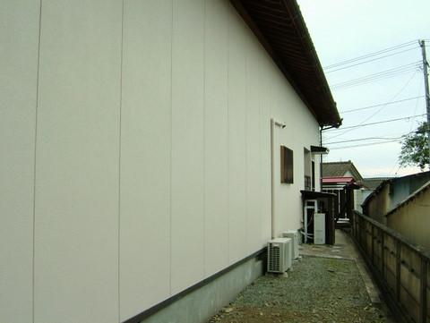 外壁塗装 北面 ナノコンポジットW 施工後