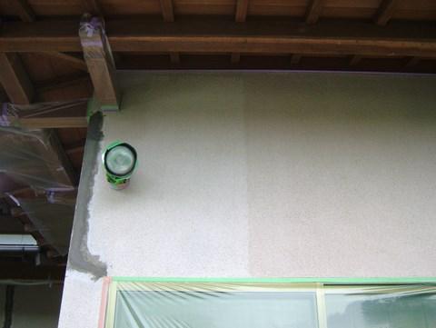 外壁塗装 Vカット カチオンタイト