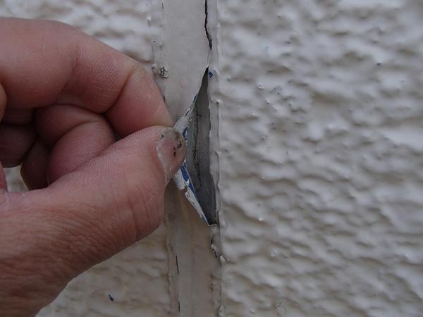 外壁塗装 縦目地 増し売り 剥がれ