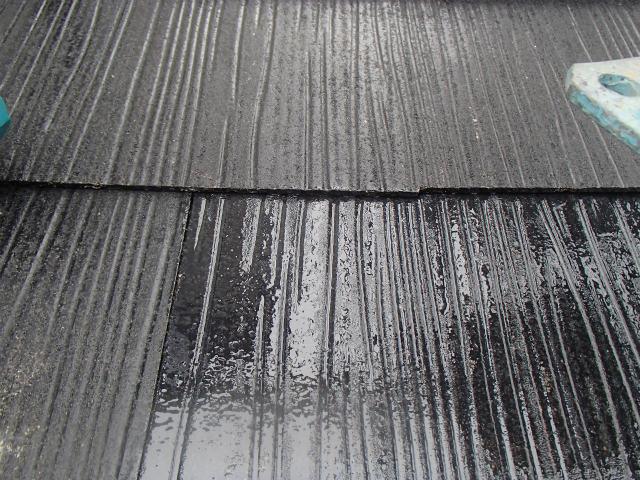 屋根塗装 カラーベスト タスペーサー設置前に塗装