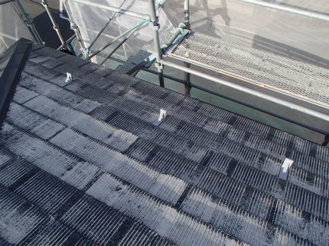 屋根塗装 雪止め 鉄製 錆び止め