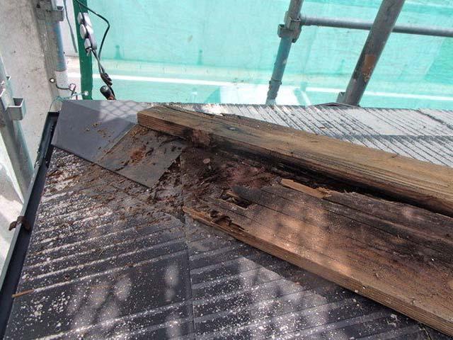 屋根塗装 カラーベスト 下地腐食