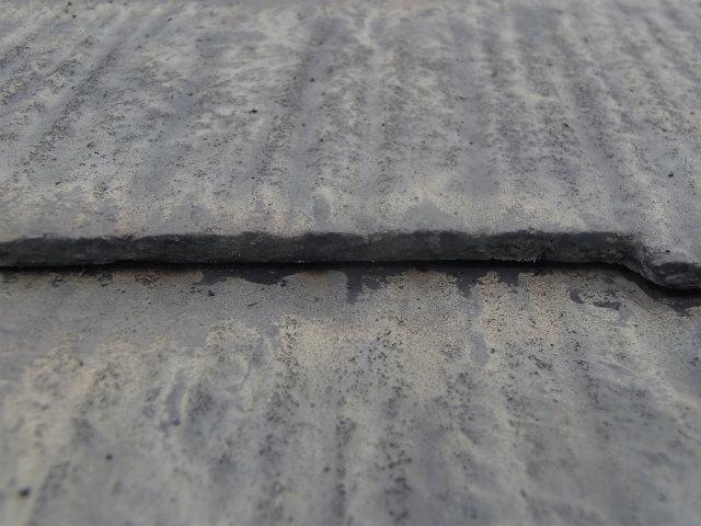 屋根塗装 コロニアル カラーベスト 縁切り後