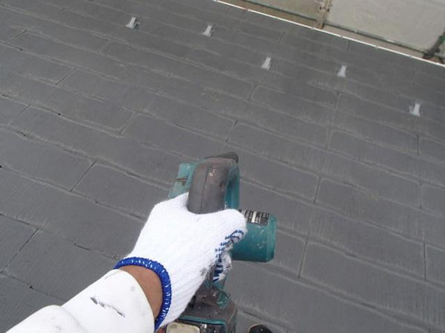 屋根塗装 カラーベスト ブロワー