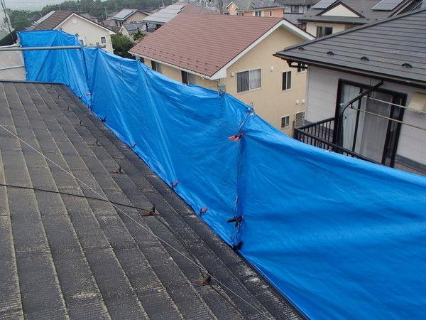屋根塗装 飛散対策
